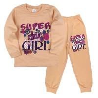 Пижама для девочек Asadik Kids (5-8)