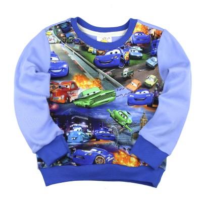 Лонгслив 3D (2-5) Cars