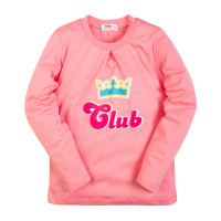 Лонгслив для девочек Takro (6-9 лет) Club